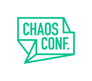 Mid 300 chaosconf wordmark green