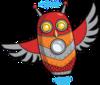 Thumb 100 owl mascot