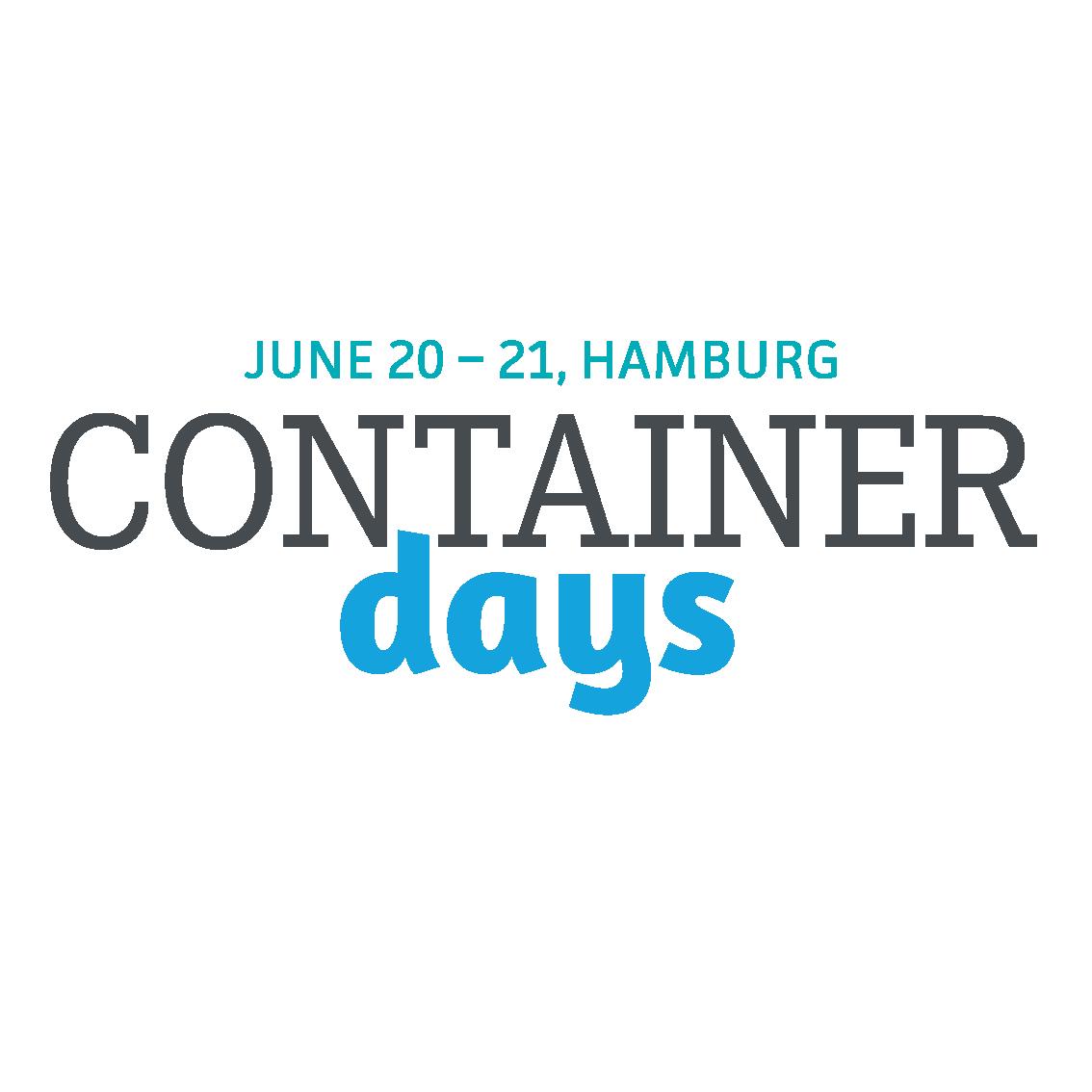 Bildergebnis für containerdays logo