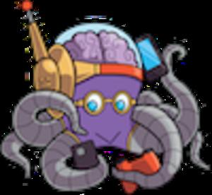 Mid 300 octo mascot